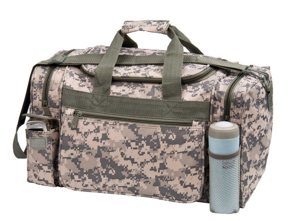 ACU Duffle Bag Digital Camouflage Duffel Bag Travel Camo Gym Bag 18