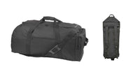 "31"" ACU Extra Large Duffel Bag & Backpack, Camping, Hiking, Sports, Camouflage or Black"
