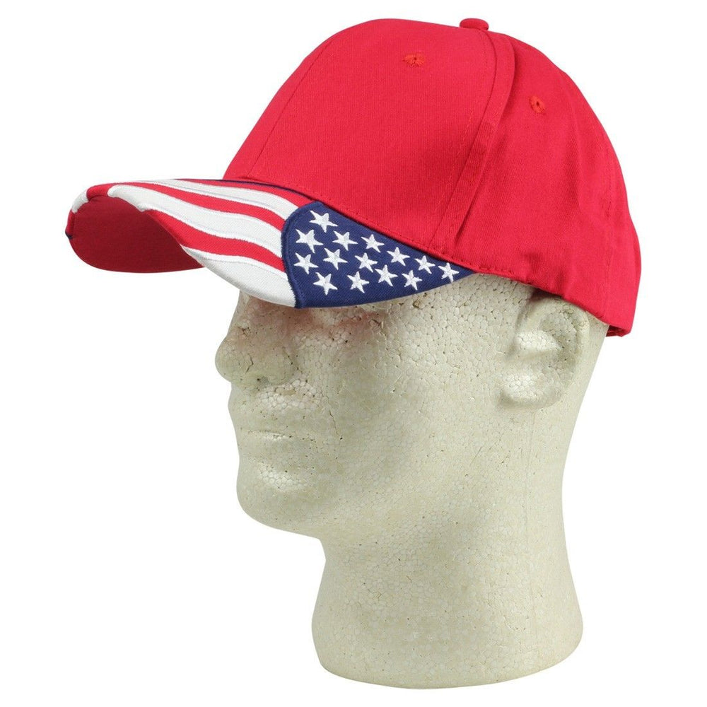 2 Packs - ImpecGear USA Flag Patriotic Baseball Cap/ Hat (2 PACK FOR PRICE OF 1)