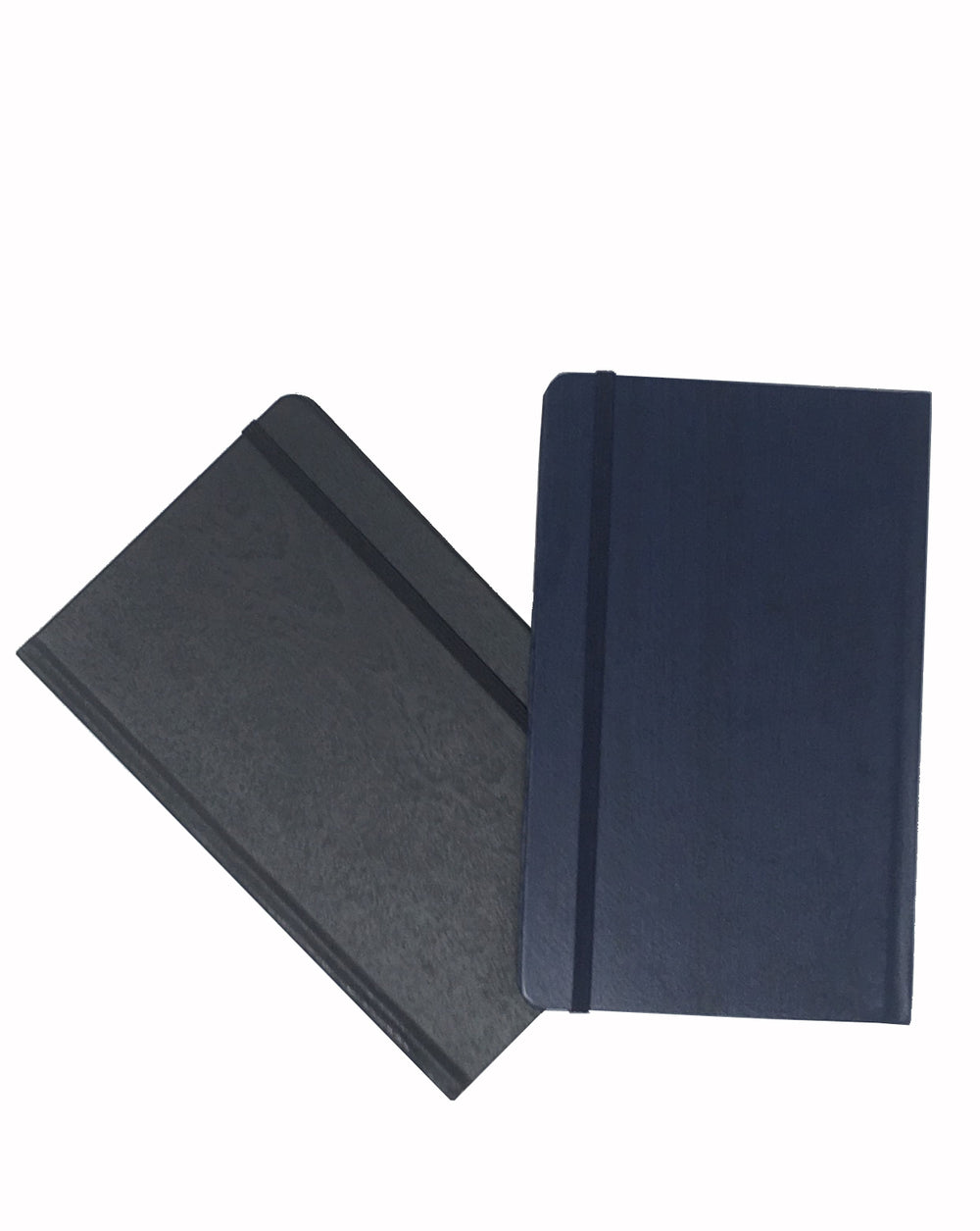 Wood Finish Hardcover Notebook With Elastic Band Closure And Bookmark