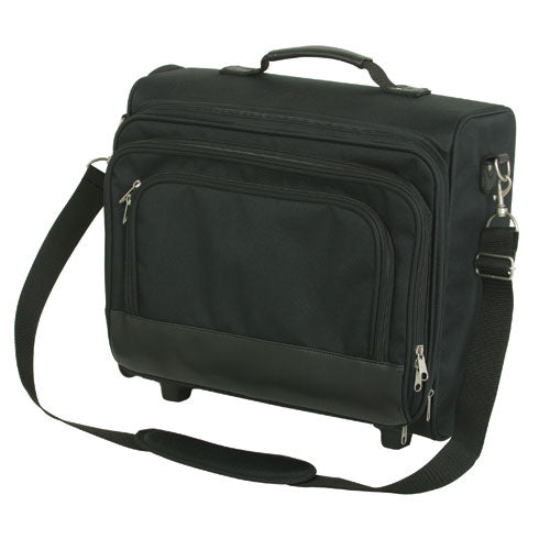 Premium Rolling Laptop Case For Work Travel Office Gym Exercise Outdoor