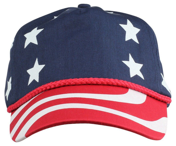 2 Packs ImpecGear USA Flag Patriotic Baseball Cap/ Hats (2 PACK FOR PRICE OF 1)
