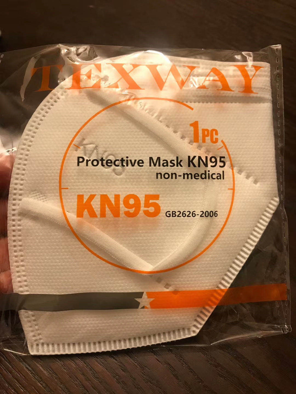 Texway protective Mask KN95 Non-medical  (50pcs) 1 box