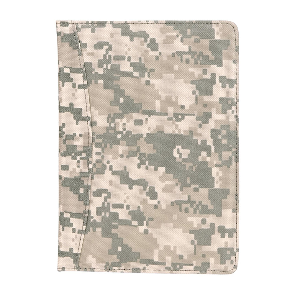 "Small Camo Personal Planner, Productivity/Financial Tracker, Organizer, Daily Calendar, Expense, Projects, Journal to Increase Productivity (PACK OF 1 - Writing Pad Camo Padfolio 10"" x 13.5"")"