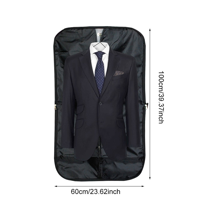 BAKINGCHEF Men Suit Storage Bag Dustproof Hanger Organizer Travel Coat Clothes Garment Cover Case Accessories Supplies Products