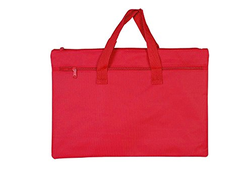 Legal Size Paper Conference Bag Document Bag For Lawyers Real Estate Transaction Paper and Loan Doc Storage (ASSORTED COLOR - 5 PIECES)