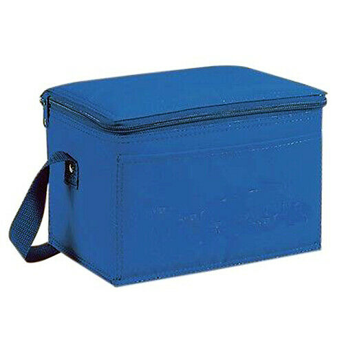 "Insulated 6-Pack Nylon Cooler Picnic Lunch Bag Box FoodWater Cooler 9"" x 6""x 5"""