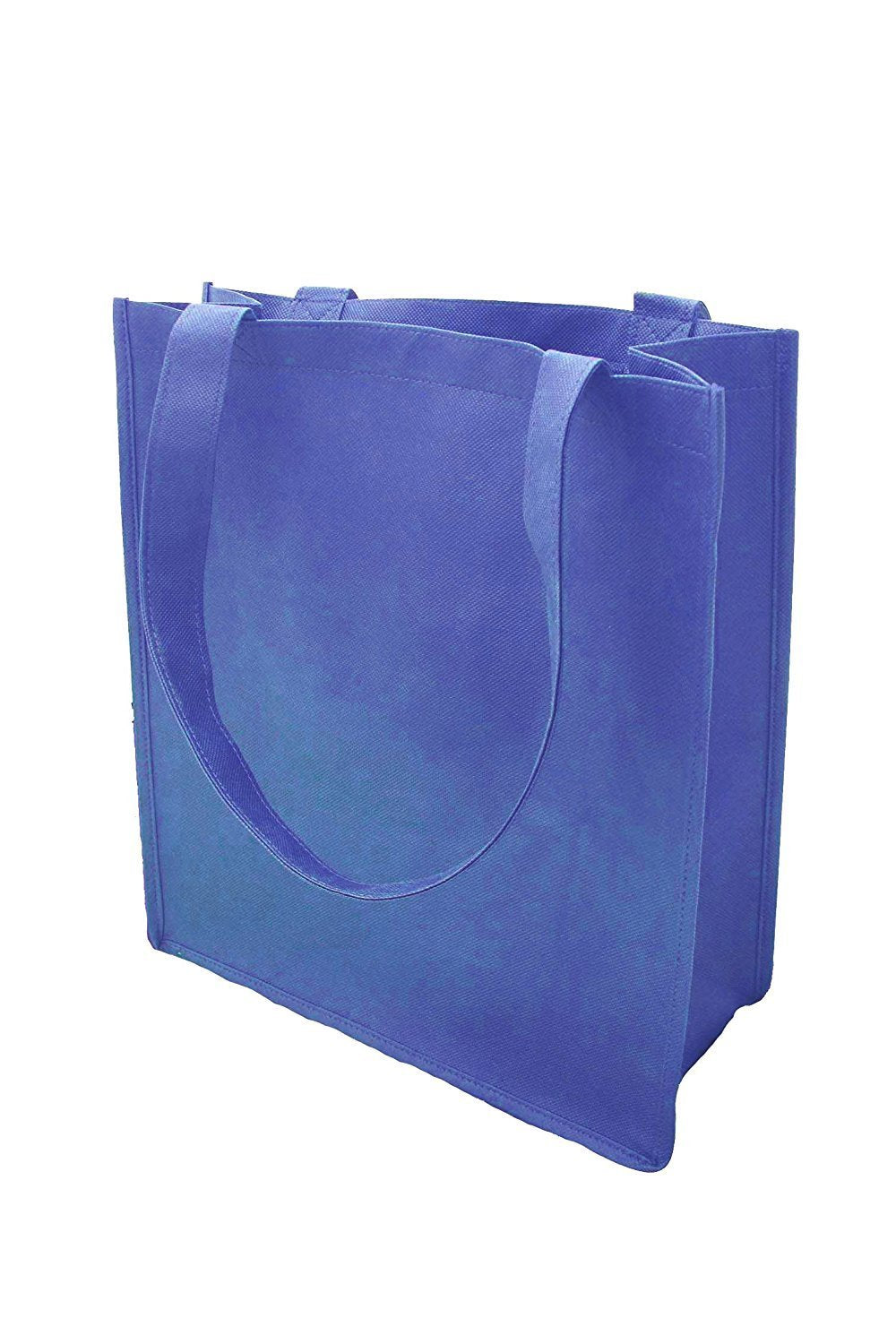 "Pack of 3 ImpecGear 15"" Tote W/ 6 Gusset Grocery Bag Recycled Reusable Shopping Tote Shoulder Bag Luggage"