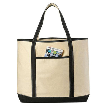 LARGE Canvas Reusable Grocery Shopping Bag Boat Tote Totes Bag 22