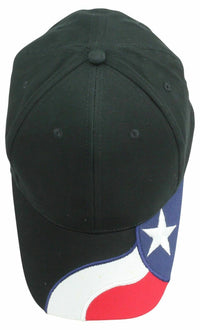 USA Texas Star Flag 6 Panel Patriotic Baseball Cotton Hats Caps Racing South