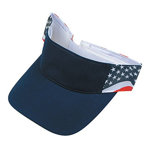 USA Flag Patriotic American Visor