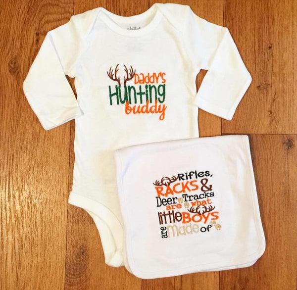 Hunting Buddy Baby Set