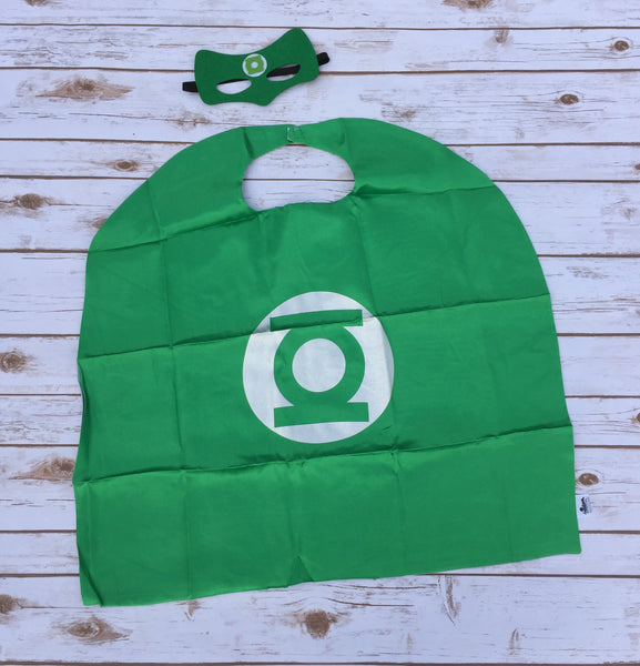 Green Lantern Cape Set