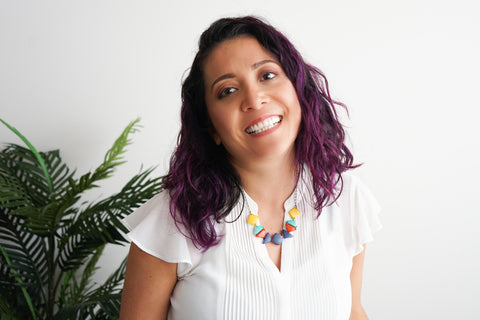 Hi,  My name is Karol and I am the designer and hand-crafter of all jewelry makings from Tagua Love. I was born in Ecuador but now call Vancouver, Canada home. I am also a wife and a proud Mama who loves to work out and take my kids for walks to the park. I take great pride in the work that I do and feel extremely fortunate that I can do what I truly love and at the same time be there for my little ones.  I have always had a great passion for the arts and wanted to use my talents to bring some of my culture to my adopted homeland. As organic jewelry was not widely found in Vancouver, tagua jewelry seemed like a great way to bring some of Ecuador to Canada. I work with local Artisans in Ecuador to create the beads which involves the cutting, polishing and dying of the tagua nuts. The tagua used to create all Tagua Love jewelry is ethically sourced from Ecuador and all designs are hand-made in Canada. Working with the local Artisans in Ecuador has been an amazing experience and the tagua industry provides much-needed economic stability to the region.  I believe  believe in using business as a force for good to balance profit with purpose. Creating jewelry from nature and sustainable to help solve the social and environmental challenges our world faces today.     Thanks for your support.  Karol