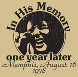 Elvis One Year Later T-Shirt