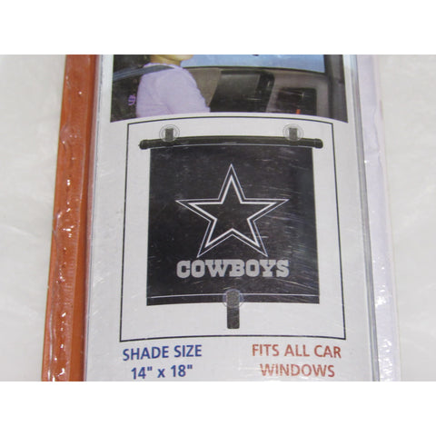 "NFL Dallas Cowboys Automotive Window Sun Shade 14"" x 18"" by Topperscot"