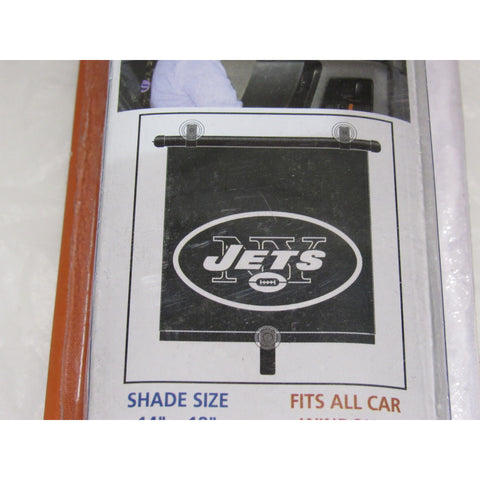 "NFL New York Jets Automotive Window Sun Shade 14"" x 18"" by Topperscot"