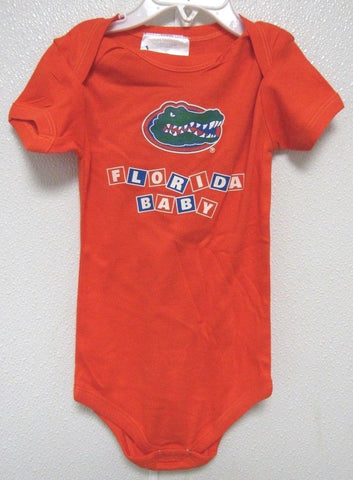 NCAA Florida Gators Baby Orange Lap Shoulder 1 Pc 12M Two Feet Ahead