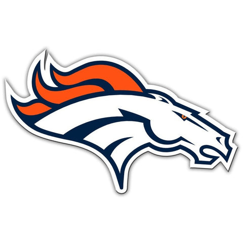NFL 12 INCH AUTO MAGNET DENVER BRONCOS RIGHT FACING LOGO