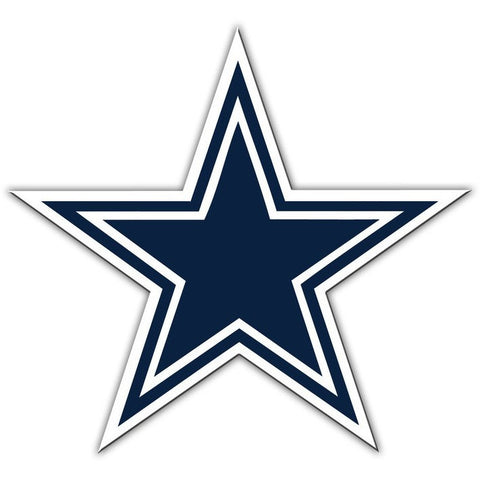 NFL 12 INCH AUTO MAGNET DALLAS COWBOYS CURRENT LOGO