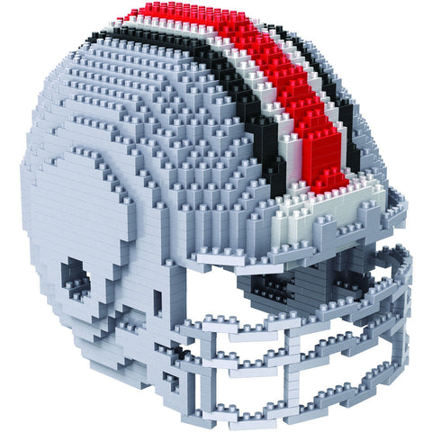 NCAA Ohio State Buckeyes Helmet Shaped BRXLZ 3-D Puzzle 1252 Pieces
