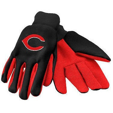 MLB Cincinnati Reds Utility Gloves by Forever Collectibles