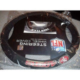 NFL POLY-SUEDE MESH STEERING WHEEL COVER SAN FRANCISCO 49ERS