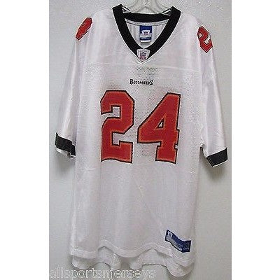 meet 480dd bcc78 BLEMISHED NFL BUCCANEERS CADILLAC WILLIAMS #24 AWAY COLOR REEBOK JERSEY  ADULT XXL