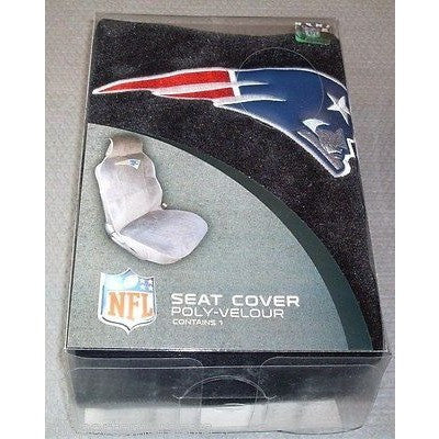 NFL New England Patriots Car Seat Cover By Fremont Die