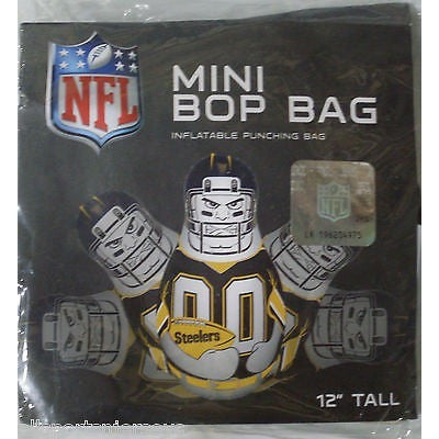 NFL Pittsburgh Steelers 12 Inch Mini Bop Bag by Fremont Die
