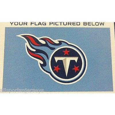 NFL 3' x 5' Team All Pro Logo Flag Tennessee Titans by Fremont Die