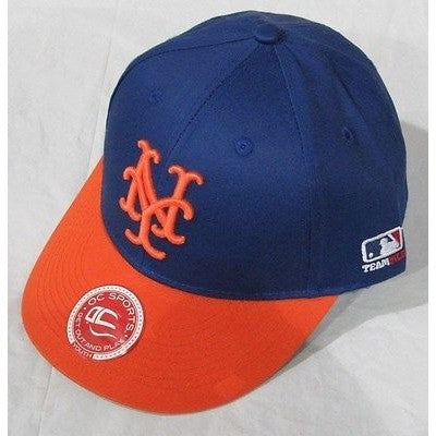 MLB New York Mets Youth Cap Cooperstown Raised Replica Cotton Twill Hat