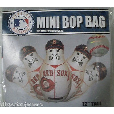 MLB Boston Red Sox 12 Inch Mini Bop Bag by Fremont Die.