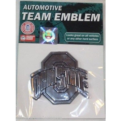 NCAA Ohio State Buckeyes 3-D Auto Team Chrome Emblem Team ProMark