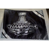 NHL LA Kings 2014 Stanley Cup Window Car Flag RICO or Fremont Die