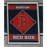 "MLB Boston Red Sox 28""x40"" Team Vertical House Flag 1 Sided"
