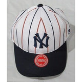 MLB New York Yankees Youth Cap Cooperstown Raised Replica Cotton Twill Hat