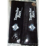 MLB Tampa Bay Rays SEAT BELT PADS VELOUR PAIR