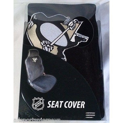 NHL PITTSBURGH PENGUINS Car Seat Cover by Fremont Die