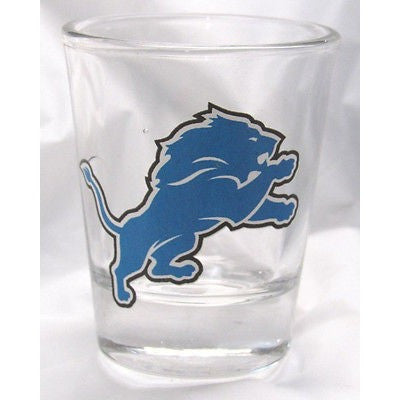 NFL Detroit Lions Standard 2 oz Shot Glass by Hunter