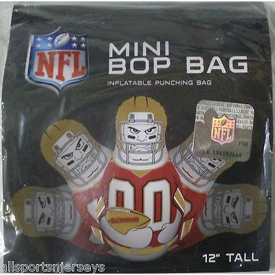 NFL San Francisco 49ers 12 Inch Mini Bop Bag by Fremont Die