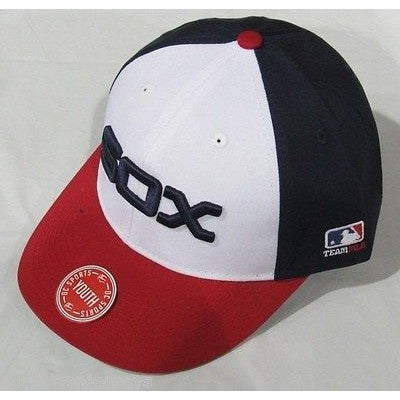 MLB Chicago White Sox Youth Cap Cooperstown Raised Replica Cotton Twill Hat