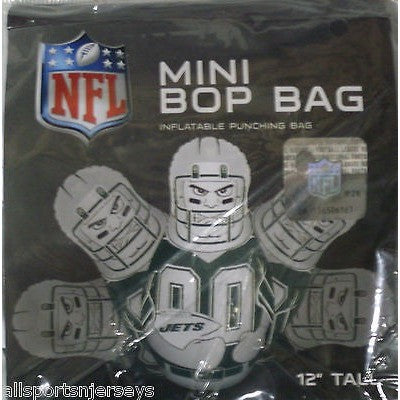 NFL New York Jets 12 Inch Mini Bop Bag by Fremont Die