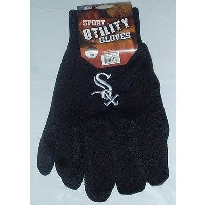 MLB NWT NO SLIP UTILITY WORK GLOVES - CHICAGO WHITE SOX