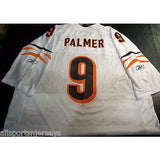BLEMISHED NFL CINCINNATI BENGALS CARSON PALMER #9 AWAY CHASE REEBOK JERSEY XL