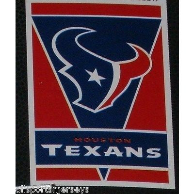 "NFL Houston Texans 28""x40"" Team Vertical House Flag 1 Sided"