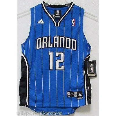 NBA ADIDAS Swingman Jersey Dwight Howard Orlando Magic Blue Youth Medium
