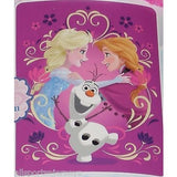 46X60 MICRO ROLLED FLEECE BLANKET - FROZEN FLORAL