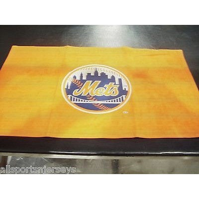"MLB New York Mets Sports Fan Towel Orange 15"" by 25"" by WinCraft"