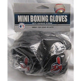 MLB Cleveland Indians 4 Inch Rear View Mirror Mini Boxing Gloves